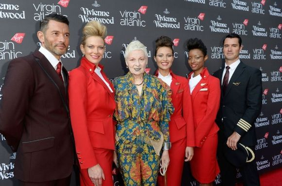 Vivienne Westwood design takes to the skies on Virgin Atlantic