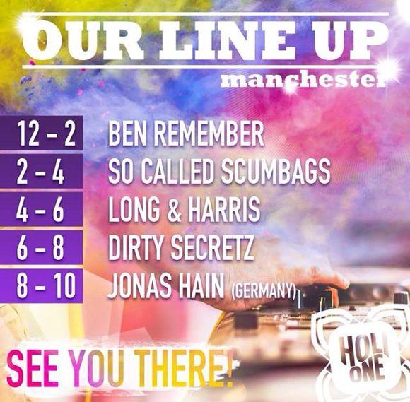 HOLIONE Manchester 24hr countdown