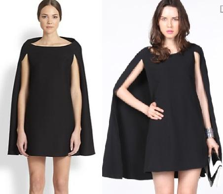 Cape dress