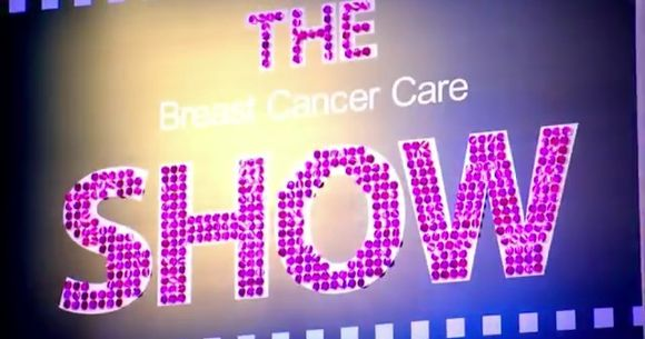 Glittering fashion show launches Breast Cancer Awareness Month!