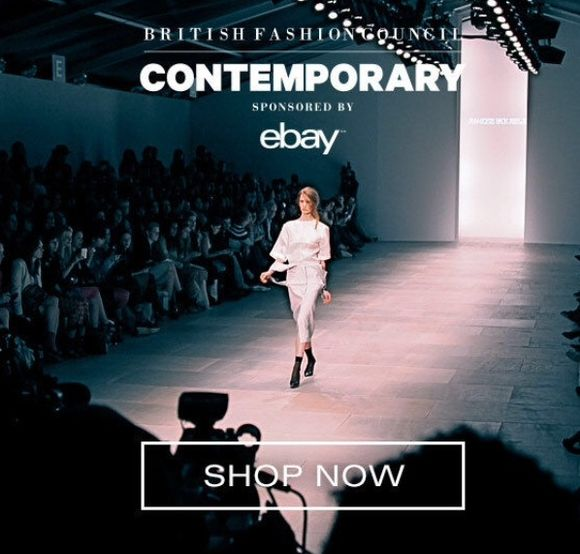 London Fashion Week hits Ebay