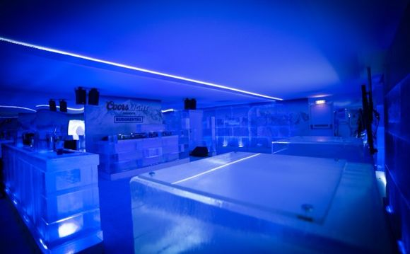Manchester's first ICE BAR