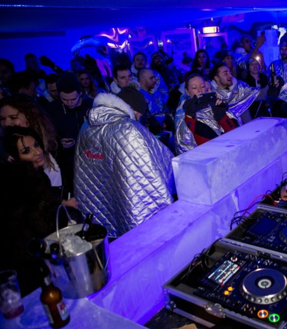 Rudimental play the most refreshing gig in town to launch the Coors Light Ice Bar in Manchester